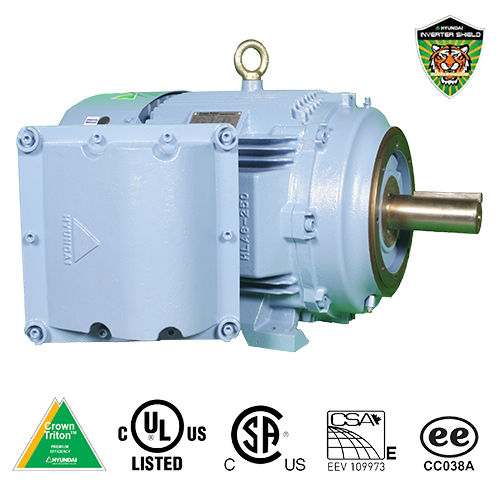 Hyundai Explosion-Proof Motor with C-Flange Face