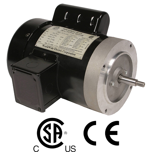 WorldWide Electric Explosion-Proof Motor with C-Flange Face